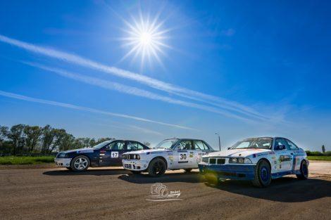 3 körös BMW E36, E46 rally autó élményvezetés