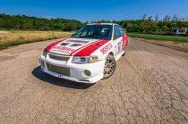 3 körös Mitsubishi Lancer EVO rally autó élményvezetés