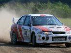 5 körös Mitsubishi Lancer EVO rally autó élményvezetés