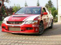 8 körös Mitsubishi Lancer EVO rally autó élményvezetés