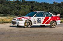 10 körös Mitsubishi Lancer EVO rally autó élményvezetés
