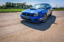 2 körös Subaru vagy Mitsubishi rally autó élmény utasként