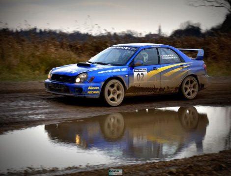 4 körös Subaru vagy Mitsubishi rally autó élmény utasként