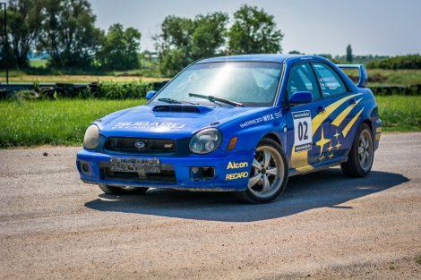8 körös Subaru Impreza WRX STI rally autó élményvezetés