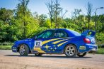 10 körös Subaru Impreza WRX STI rally autó élményvezetés