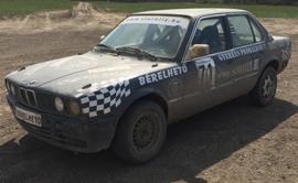 BMW E30, E36 rally autó élményvezetés
