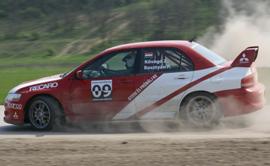 Mitsubishi Lancer EVO rally autó élményvezetés