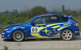 Subaru Impreza WRX Sti rally autó élményvezetés